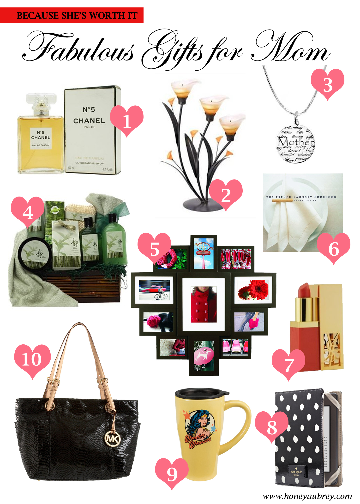 mother's day gift ideas – love, honey