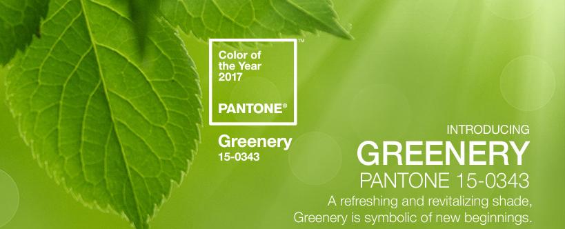pantonegreenery