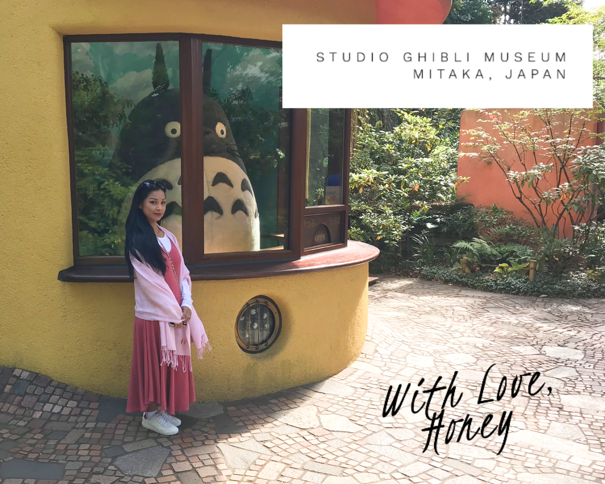 Studio Ghibli Mitaka Honey Aubrey